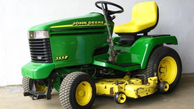 john deere 355 d diesel aufsitzm her schlepper traktor. Black Bedroom Furniture Sets. Home Design Ideas